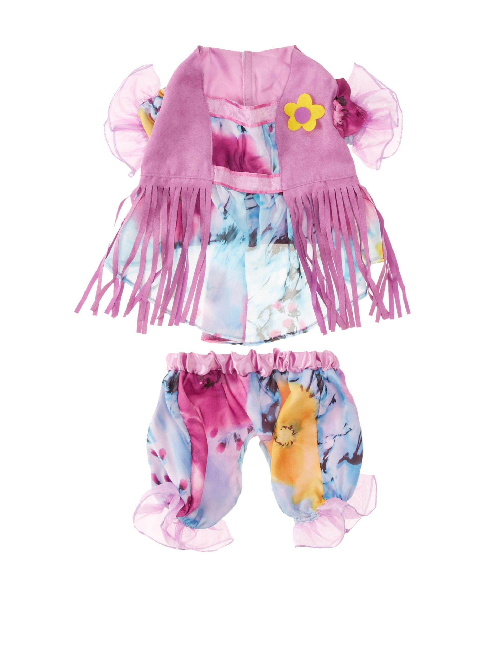 Casual Canine Hippie Hounds Costume, Medium
