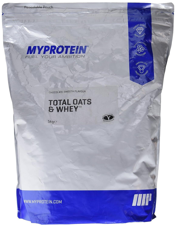 MyProtein Total Oats And Whey Mezcla de Proteína y Avena, Sabor Chocolate Suave - 5000 gr: Amazon.es: Salud y cuidado personal