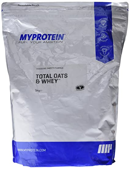 MyProtein Total Oats And Whey Mezcla de Proteína y Avena, Sabor Chocolate Suave - 5000