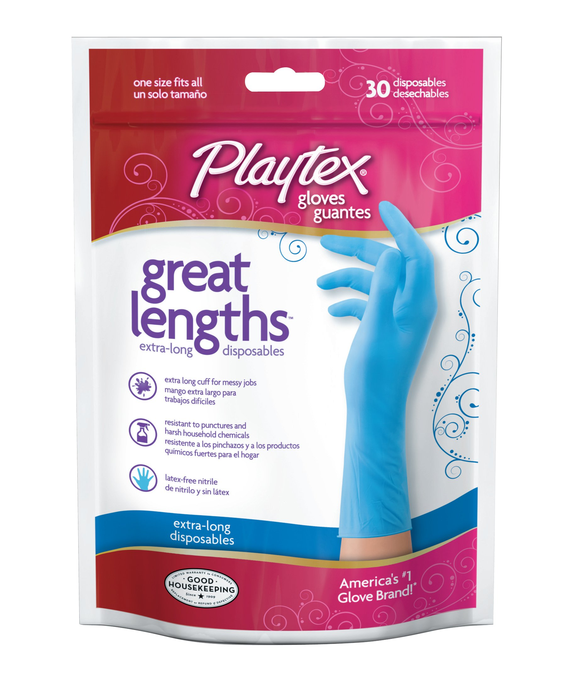 Amazon Com Playtex Cleancuisine Disposable Gloves Large