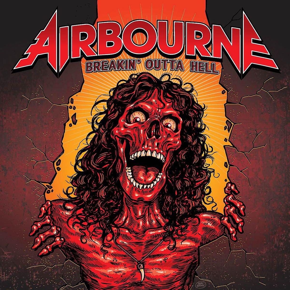 Vinilo : Airbourne - Breakin Outta Hell (LP Vinyl)