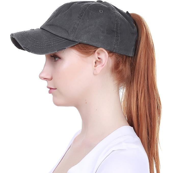 独特设计的高马尾棒球帽$12.99!