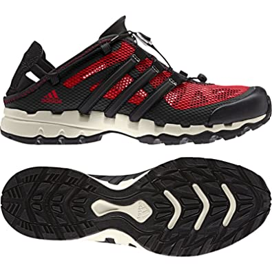 adidas Sport Performance Men's Hydroterra Shandal Sneakers,Red,6.5 M