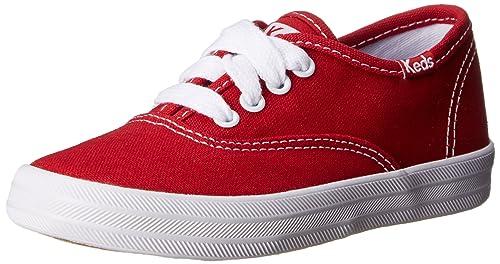 Keds Original Champion CVO zapatillas de deporte de chicas-Red-25.5: Amazon.es: Zapatos y complementos