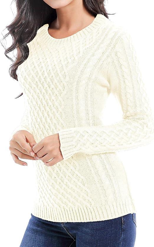 v28 Crew Neck Knit Sweater