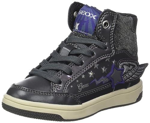Geox Jr Creamy A, Zapatillas Altas para Niñas: Amazon.es: Zapatos y complementos