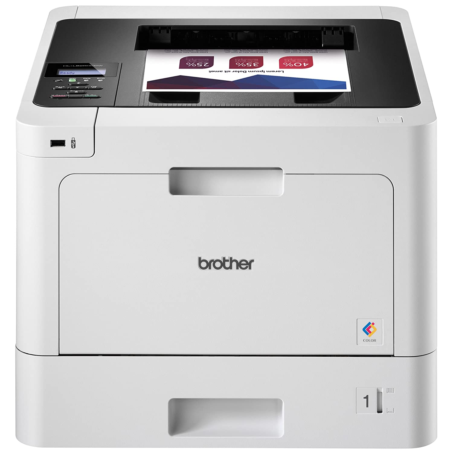 Laser computer printers amazon office electronics printers brother hl l8260cdw business color laser printer duplex printing flexible wireless networking reheart Gallery