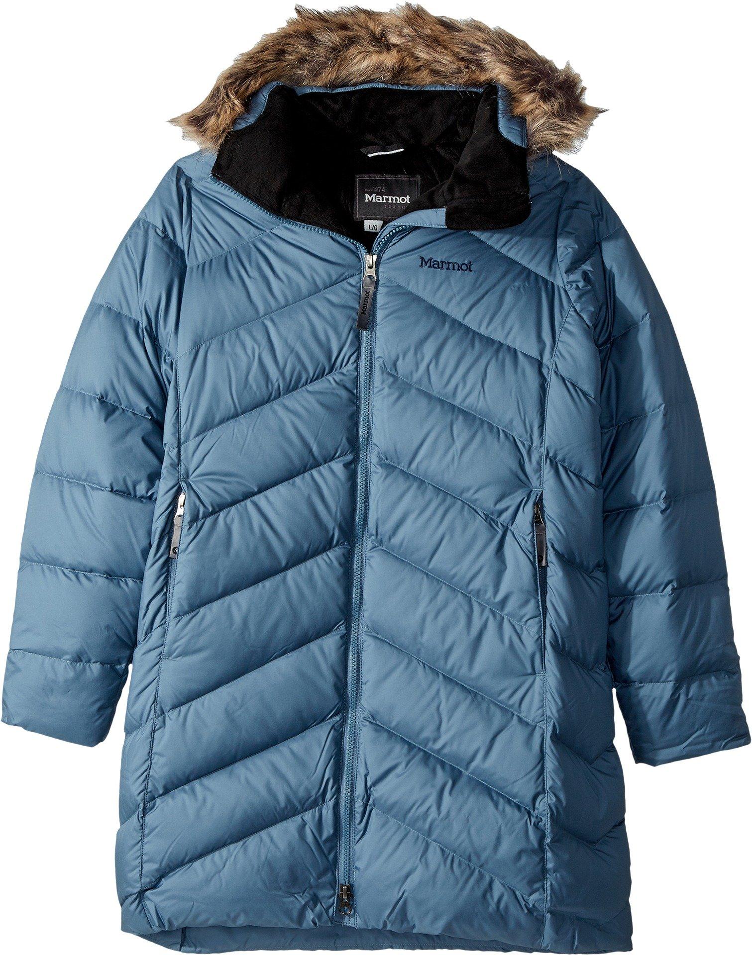 Marmot Kids Girl's Girls' Montreaux Coat (Little Kids/Big Kids) Storm Cloud Medium