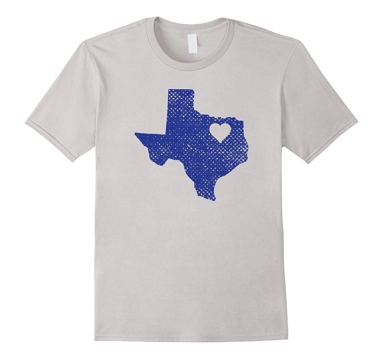 Dallas Love Blue Texas State Shirt T Shirt Goatstee