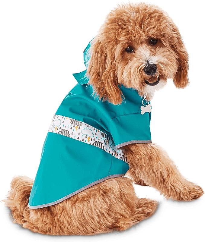 GOOD2GO Reversible Dog Raincoat in Blue