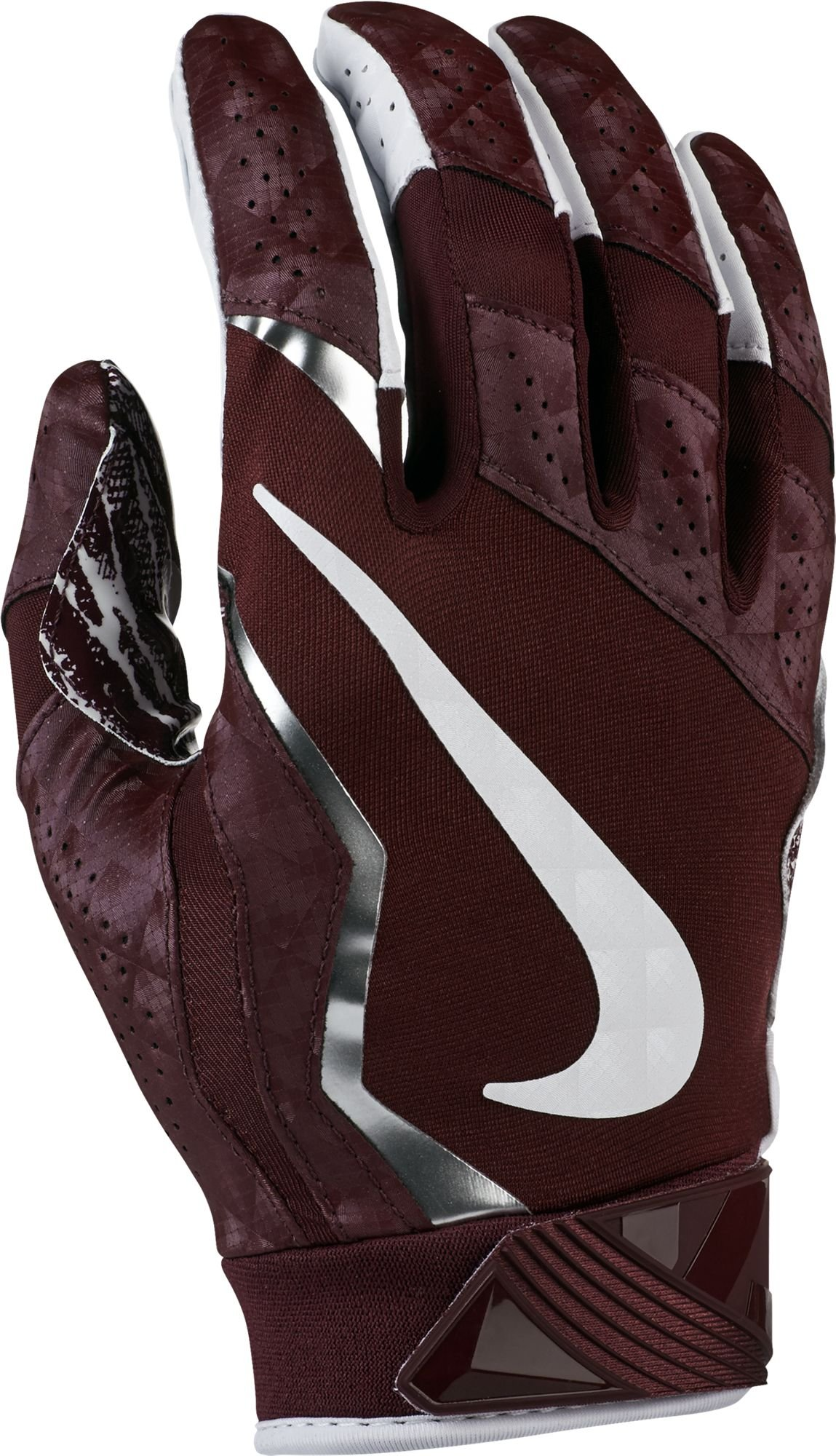 Nike Vapor Jet Gloves 4 Deep Maroon/White Size X-Large