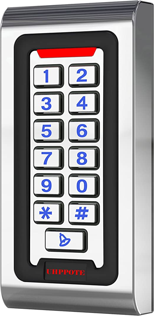 UHPPOTE Cinc Aleación Caja IP68 Impermeable Control Acceso ...