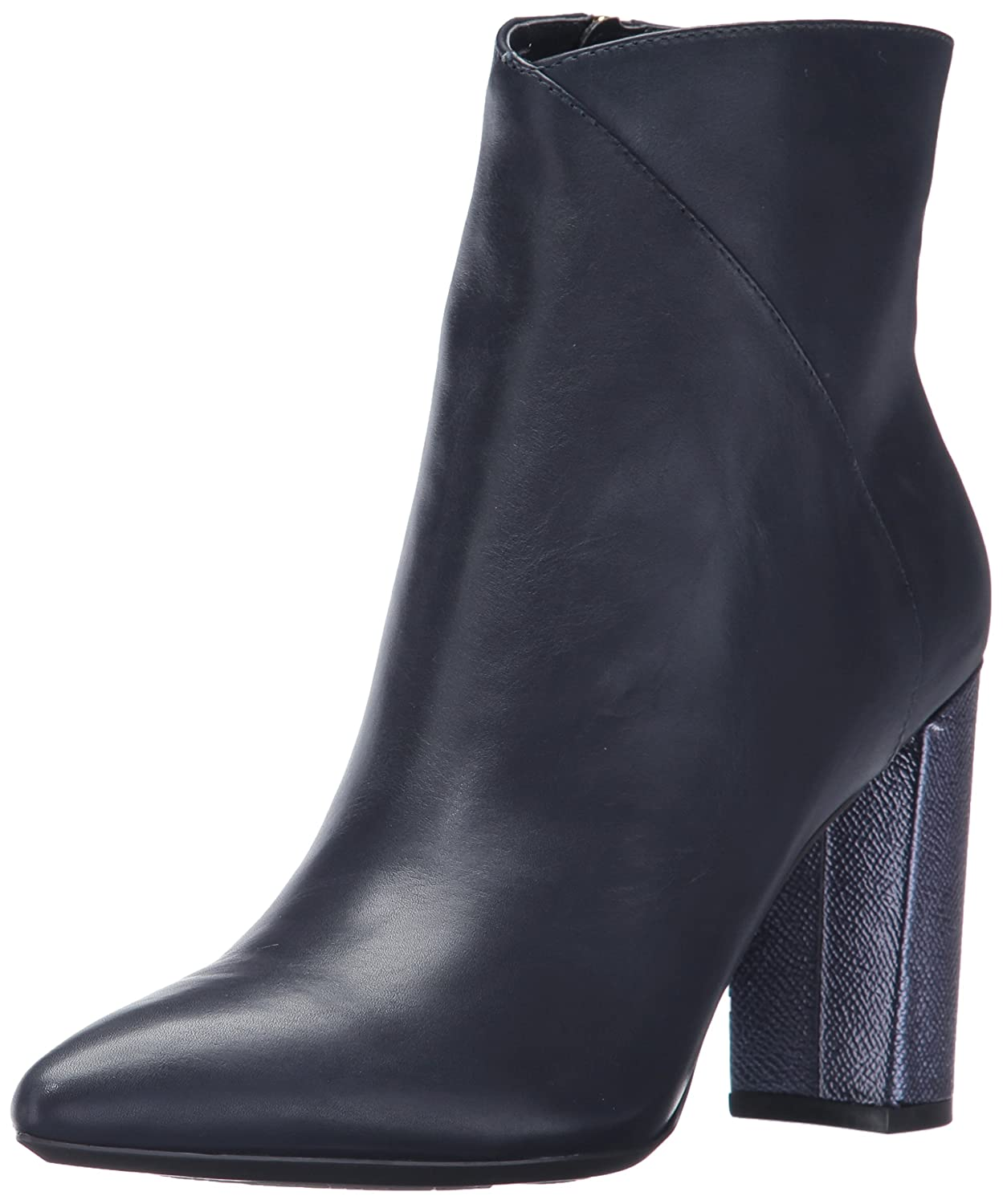 Nine West Women's Argyle Suede Ankle Boot B071F41W14 11 B(M) US|Navy