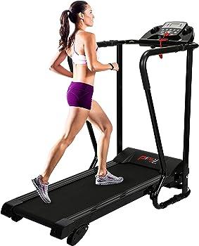 Pinty Easy Assembly Electric Folding Treadmill