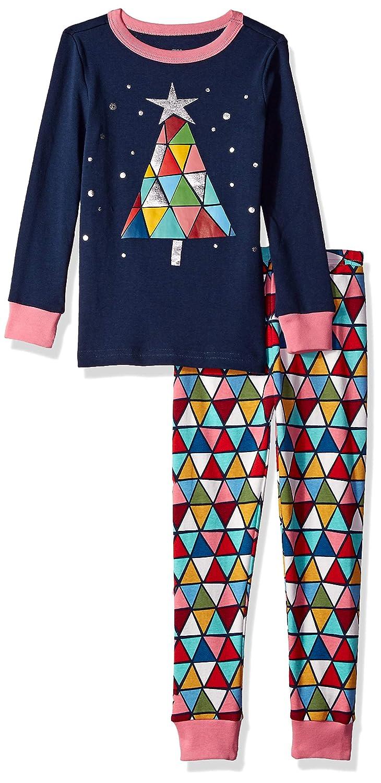Gymboree Girls Big 2-Piece Tight Fit Sleeve Long Bottoms Pajama Set