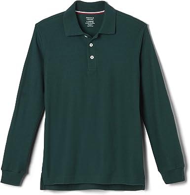 French Toast Boys Short Sleeve Pique Polo Hunter Green