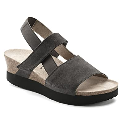 a7b329a7521 Birkenstock Women s Linda Anthracite Suede 36 (US Women s ...