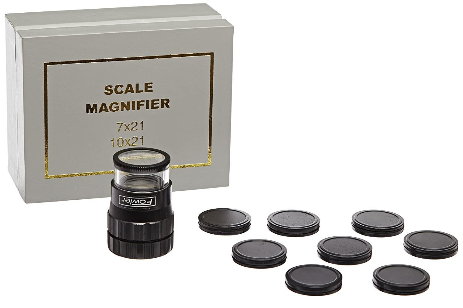 Fowler 52-664-009 Pocket Optical Comparators, 10X Magnification Fred V. Fowler Company Inc. 52-664-009-0