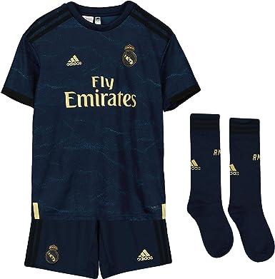 Real Madrid Kit - Personalizable - Segunda Equipación Original Real Madrid 2019/2020: Amazon.es: Ropa y accesorios