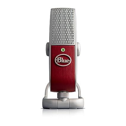 Blue Raspberry Premium Mobile USB Microphone (0304)