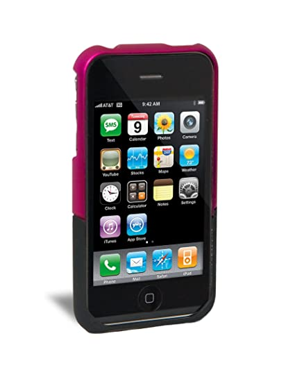 release date 762d9 ed048 iFrogz Luxe Case for iPhone 3G, 3G S (Pink,Black)