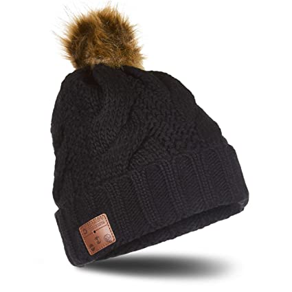 45e630d1456 Image Unavailable. Image not available for. Color  Accessory Innovations  Bluetooth Wireless Knit Beanie ...