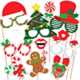 Discount Retail Christmas Photo Booth Party Props - Laser Cut DIY Kit for Christmas Party