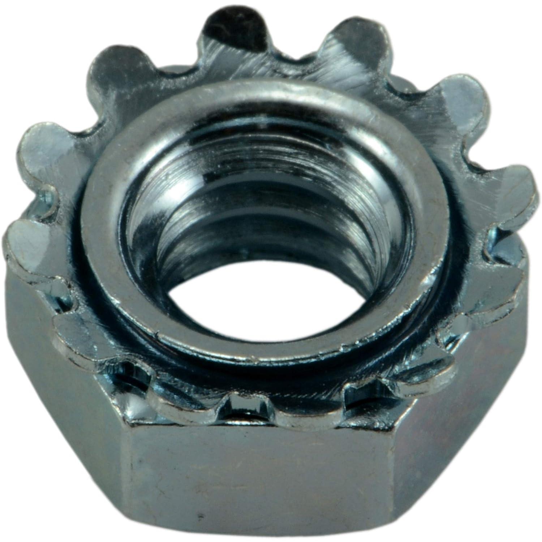Piece-100 1//4-20 Hard-to-Find Fastener 014973268466 Coarse Kep Lock Nuts