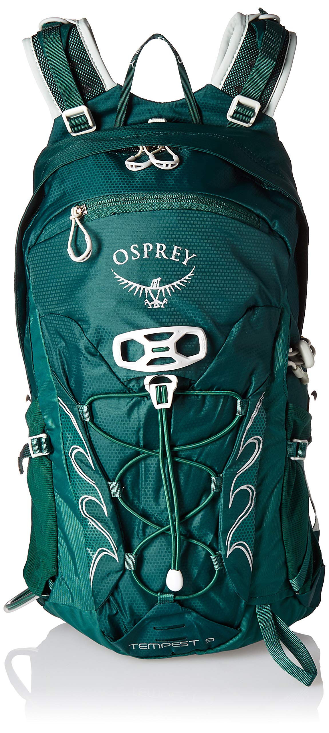 Osprey Packs Tempest 9 Women's Hiking Backpack, Chloroblast Green, WX/Small