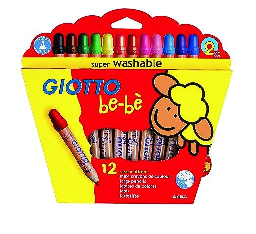 104 opinioni per Giotto Bebè 466500- Supermatitoni Astuccio 12 Colori + Temperamatite