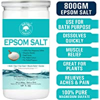 Old Tree Epsom Bath Salt For Muscle Releif, Relives Aches & Pain, 800g
