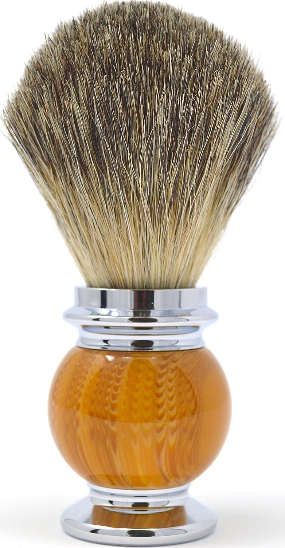 Gerard Rodrigo, London - Men's Shaving Brush - Pure Silvertip Badger Hair Brush