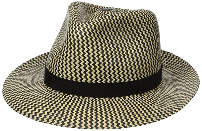 037d3e4cc54 Amazon.com  Bailey of Hollywood Men Milo Panama Fedora  Clothing