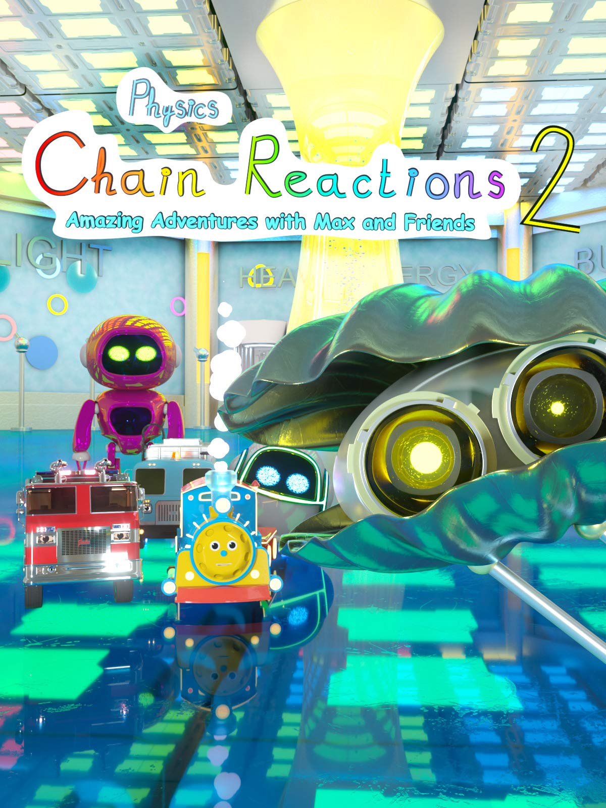 Chain Reactions (Physics) Part 2 | Amazing Adventures with Max and Friends!