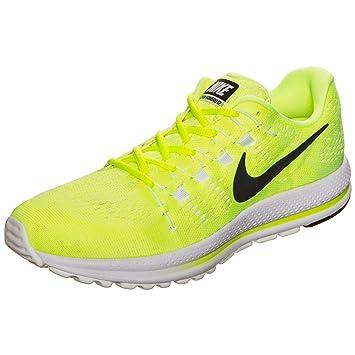 reputable site ec501 50fac Nike Air Zoom Vomero 12 Unidad para Hombre, Amarillo neón, Blanco   Amazon.es  Deportes y aire libre