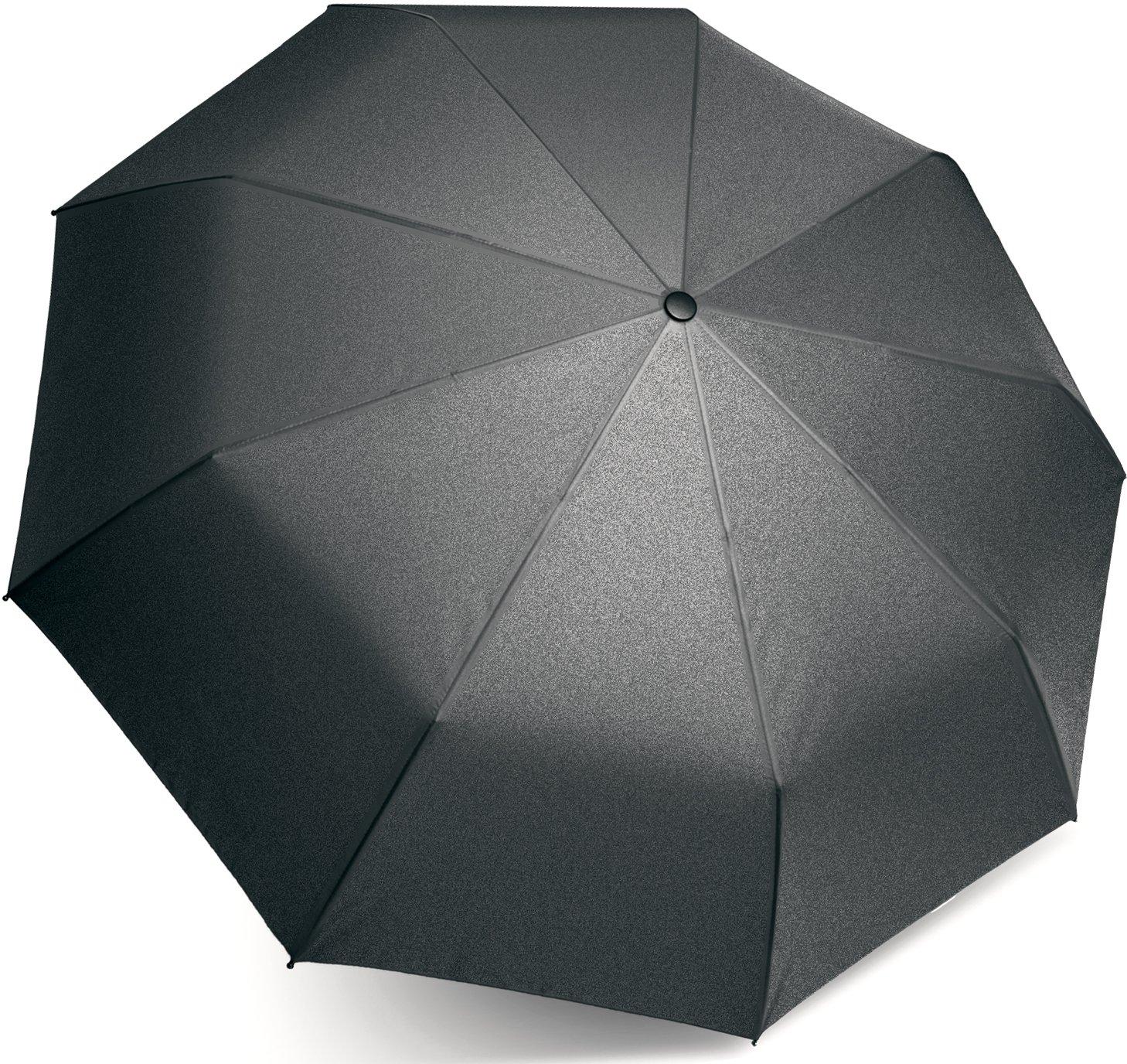 Automatic Travel Umbrella with Auto Open Close (Black)