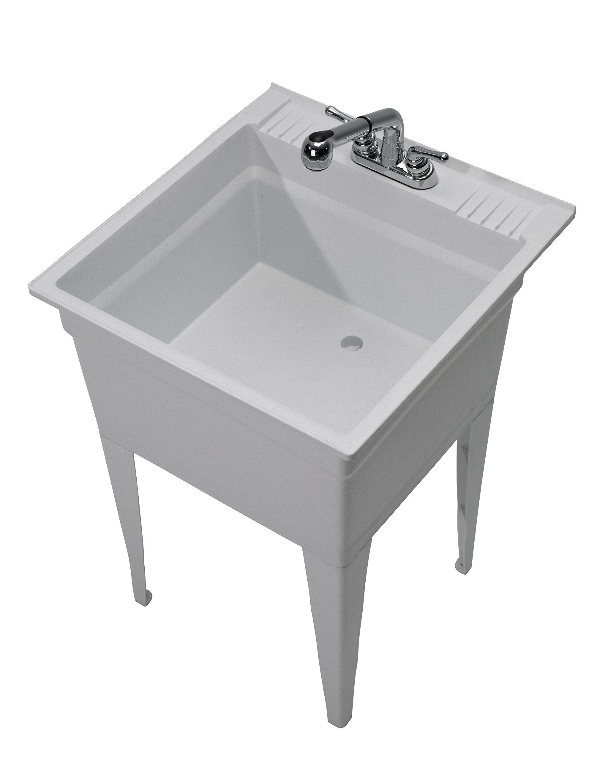 CASHEL 1960-32-02 Heavy Duty Sink - Fully Loaded Sink Kit, Granite by Cashel (Image #3)