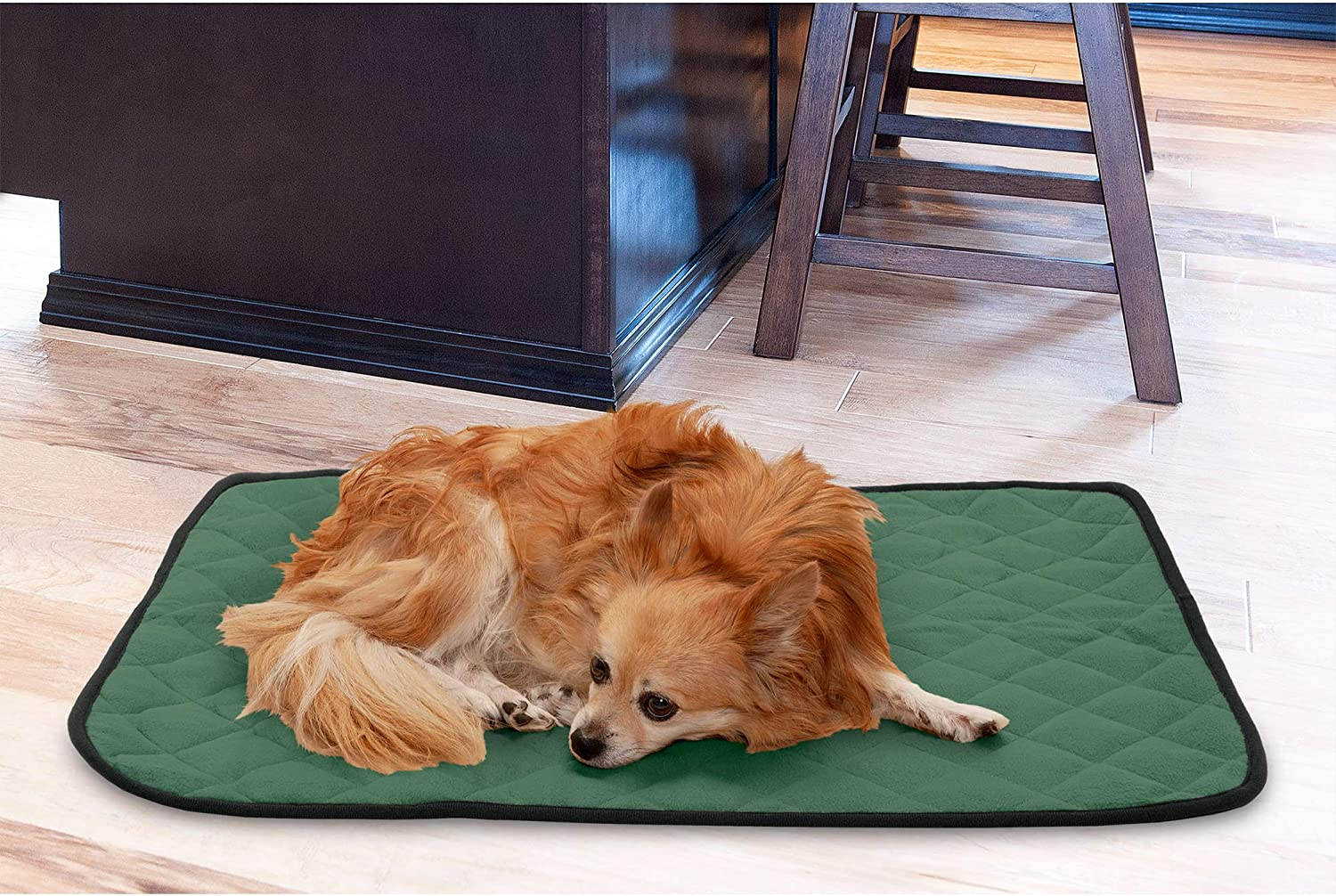 Available in Multiple Styles /& Sizes /& Absorbent Chenille Bath Towel Rug for Dogs /& Cats Furhaven Pet Dog Bed Mat Water-Resistant Thermal Throw Blanket Insulated Self-Warming Pet Bed Mat