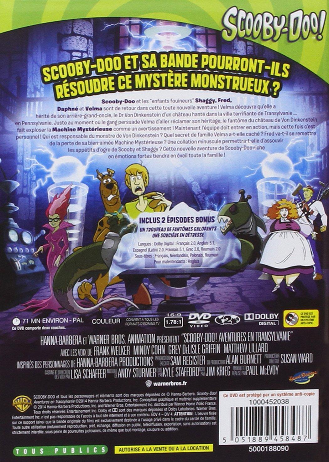 Scooby Doo Aventures En Transylvanie Amazon Co Uk Acteurs  # Sous Tv En Boi