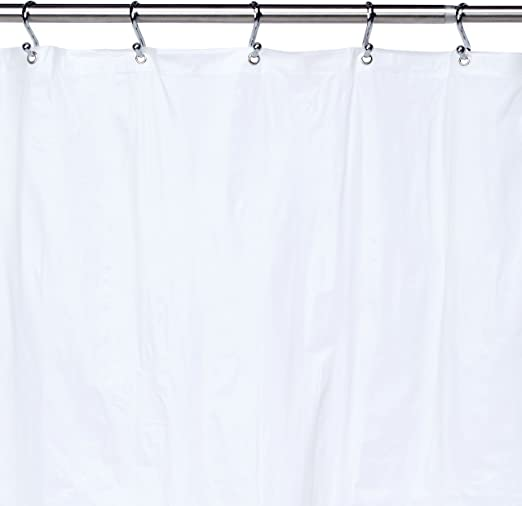 Ex-Cell Light Weight PEVA Shower Curtain Liner Excell 1ME-040O0-0699//960