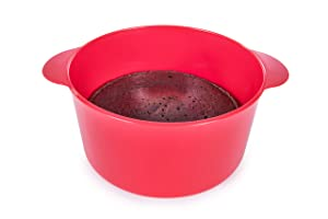 Microwave Desert Brownie Cake Baker (red)
