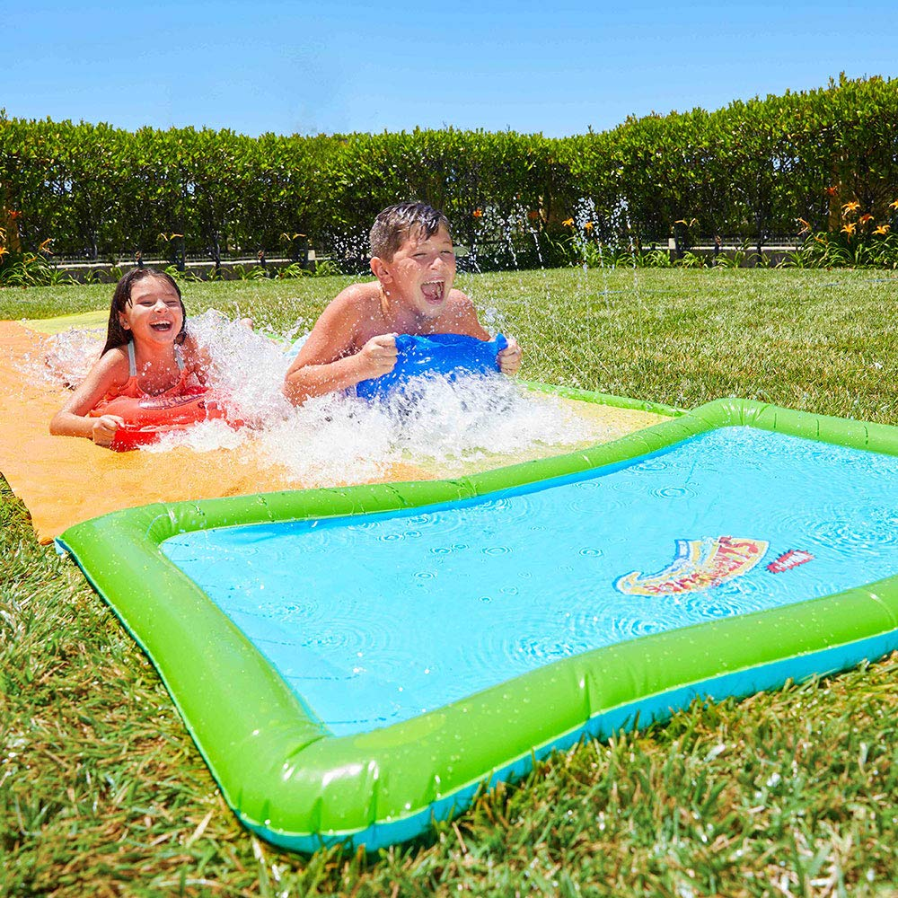 Slip 'N Slide HydroPlane Double XL Water Toy   Extra-Long Inflatable Summer Water Slide   Summer Fun for Kids