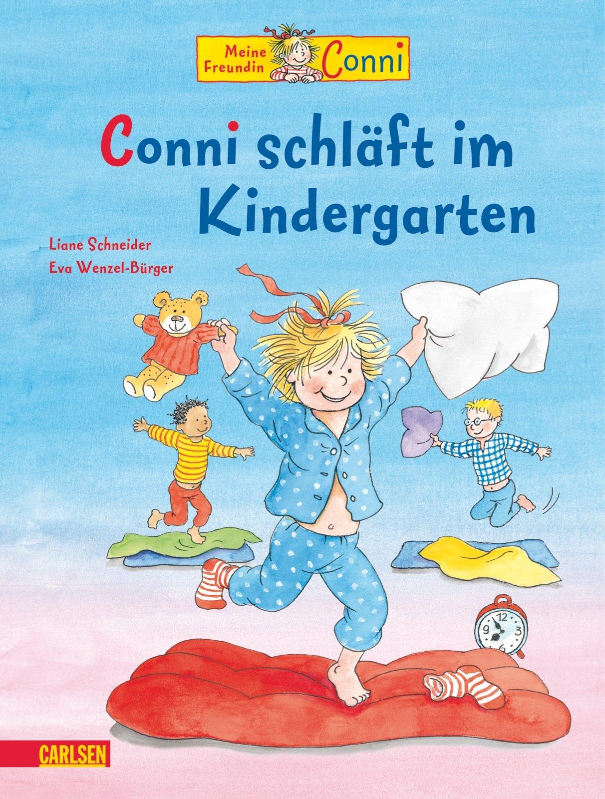 Conni-Bilderbücher: Conni schläft im Kindergarten
