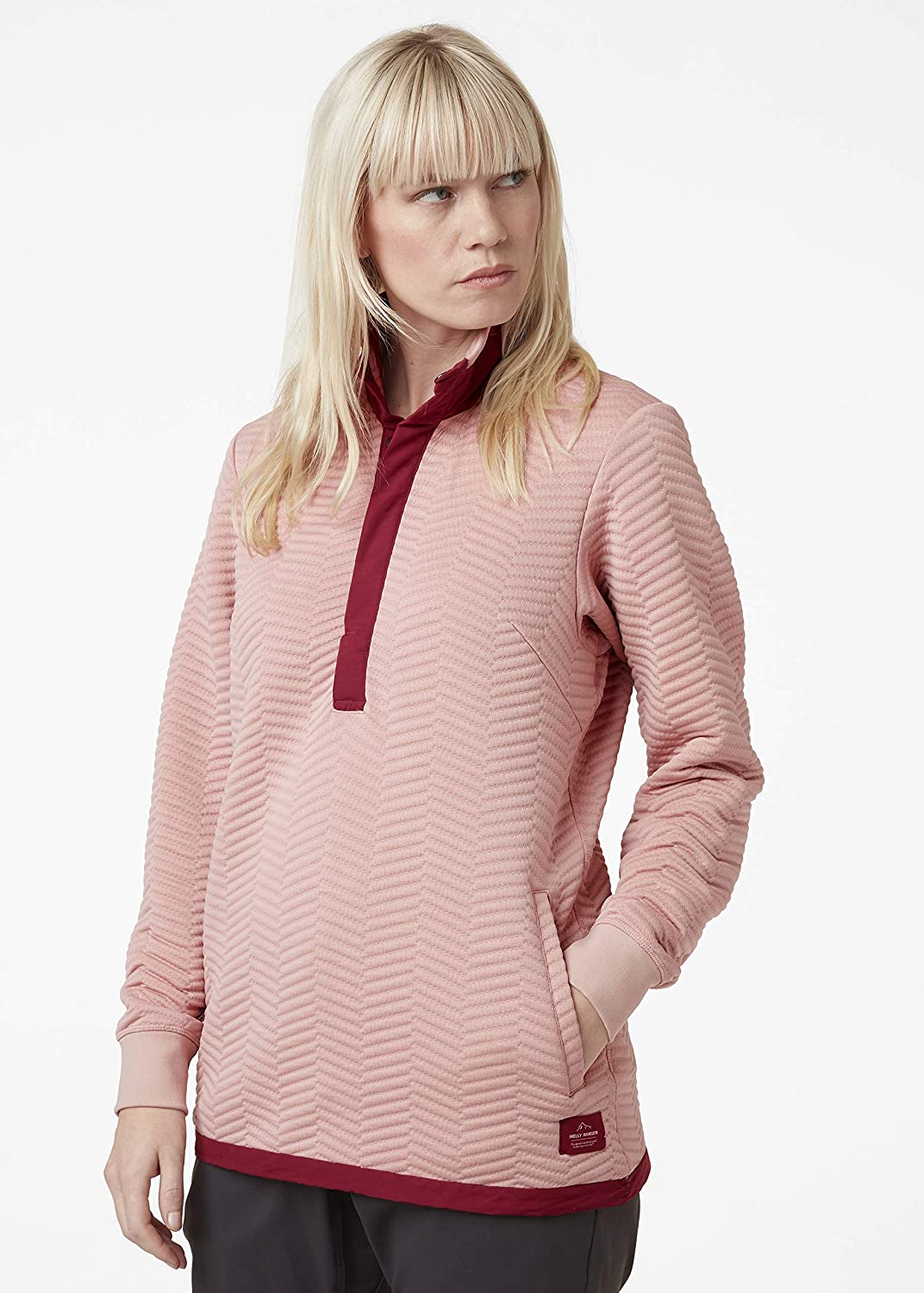 Helly Hansen Damen Lillo Sweatshirt Damen Sweatshirt Misty Rose