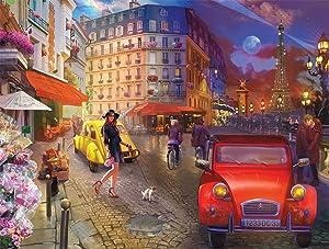 Buffalo Games - A Stroll in Paris - 750 Piece Jigsaw Puzzle