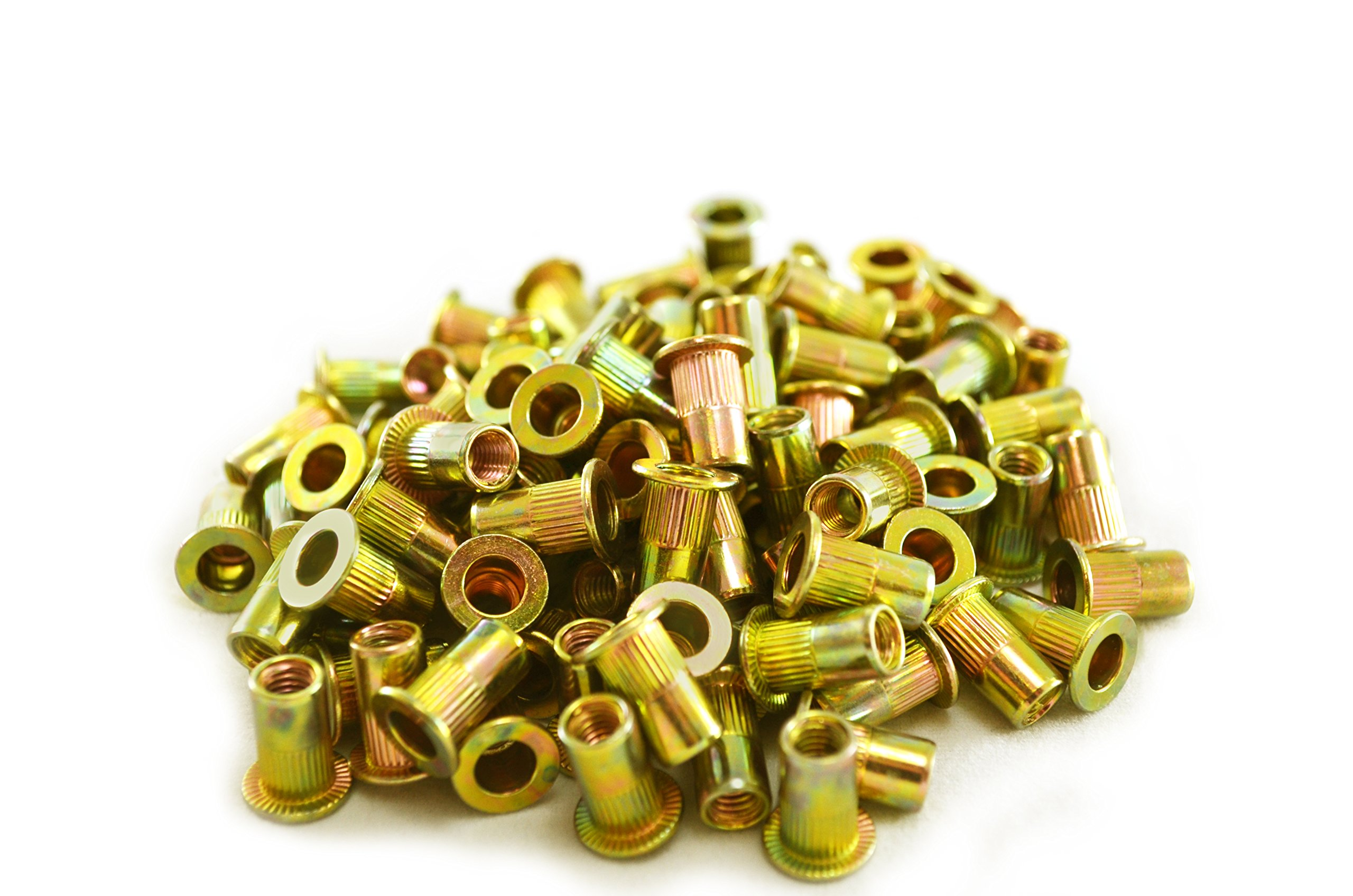Astro Pneumatic Tool RN5M M5 5mm Steel Rivet Nuts (100 Piece)