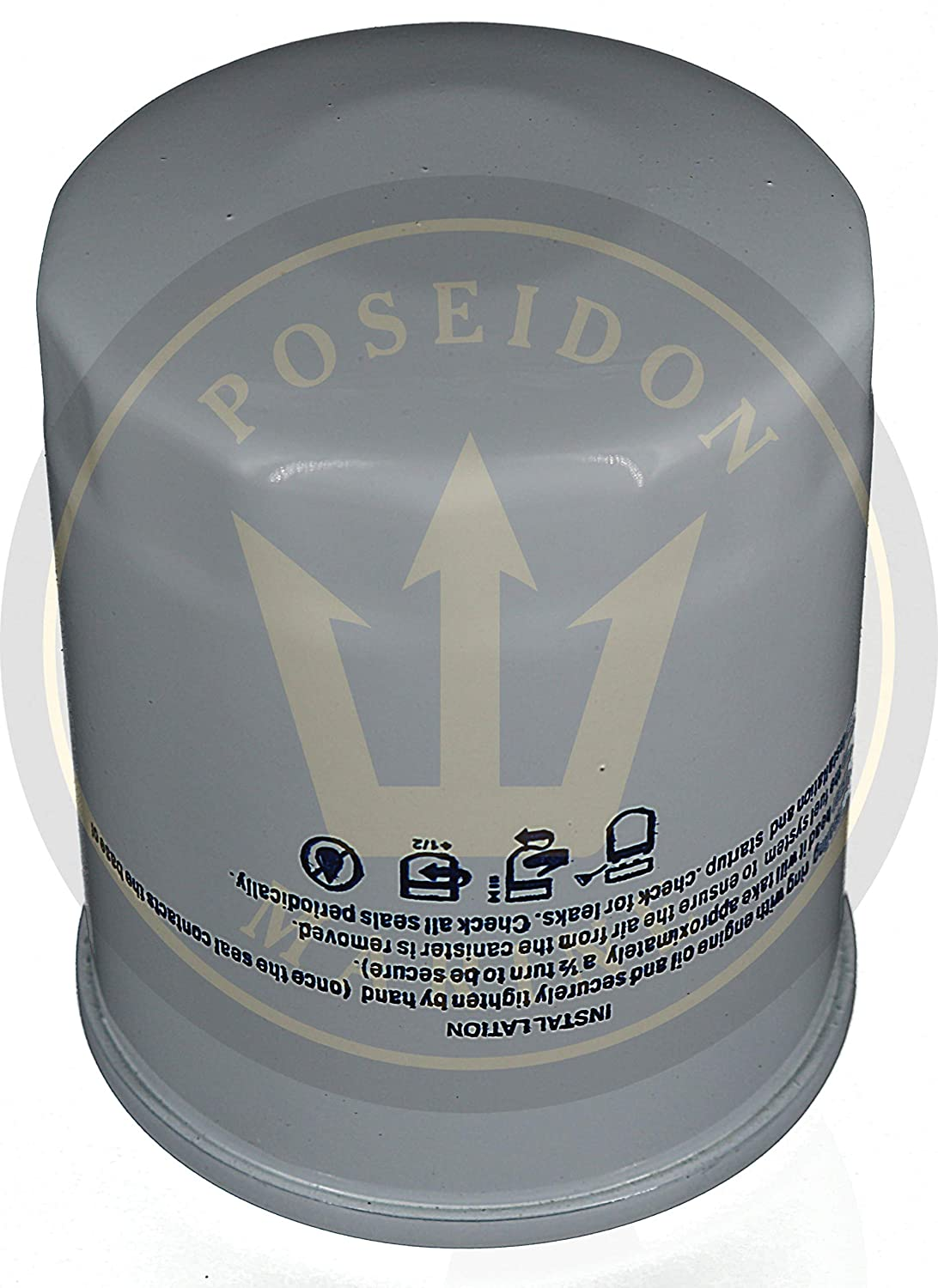 Amazon com : Poseidon Marine Oil Filter for Suzuki DF150