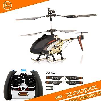 ACME - zoopa 150 red heat | Helicóptero 2.4 GHz | Turbo y Luz con LED activable | giróscopo 2.0 ForceBack (AA0179): Amazon.es: Juguetes y juegos