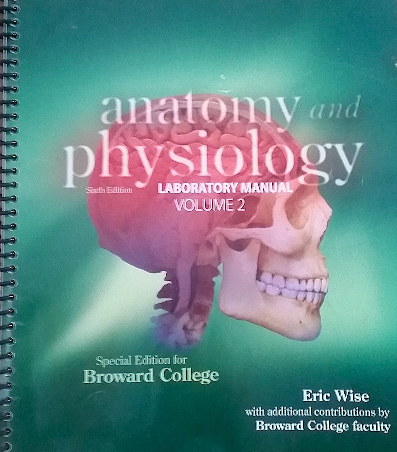 Anatomy and Physiology Laboratory Manual Volume 2 6th Edition Volume ...