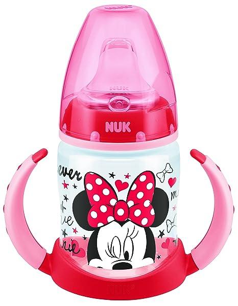 NUK NK10215073 - Biberón, diseños surtido Minnie o Mikey